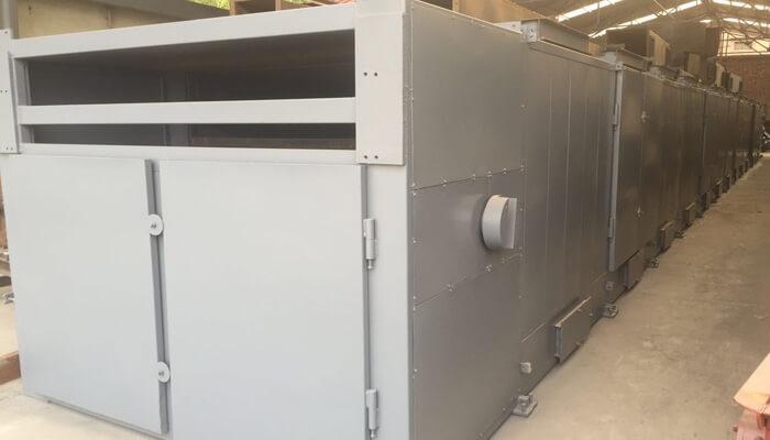 BBQ-charcoal-briquettes-production-line-dryer