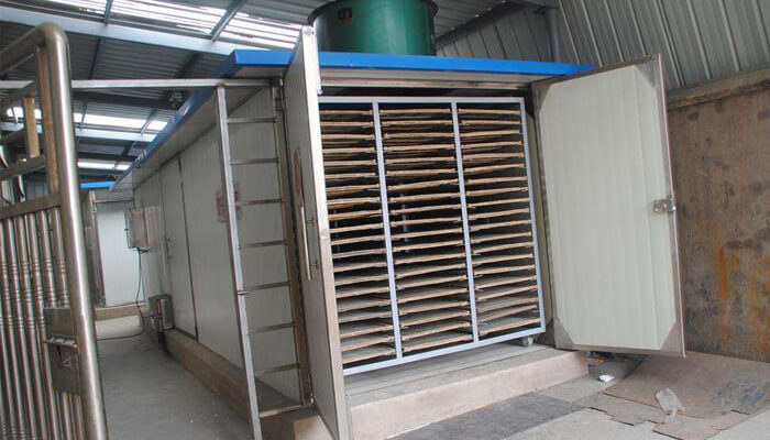 BBQ-charcoal-briquettes-production-line-drying-room