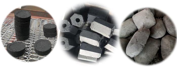 Various Shape BBQ-charcoal-briquettes